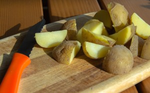 Kartoffelstücke